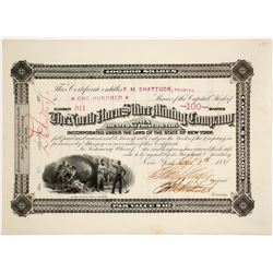 North Horn Silver Mining Co. Stock Certificate