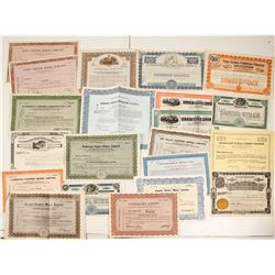 Canadian Copper Mining Stock Certificate Collection