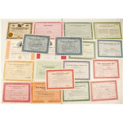Canadian Prospecting & Exploring Co. Stock Certificates