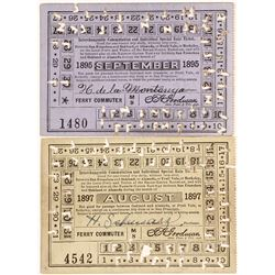 Oakland-Alameda Ferry Cards (2)
