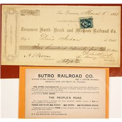 Ephemera from Two Scarce San Francisco Area Railroads