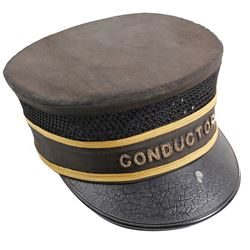 Vintage Railroad Conductor's Hat