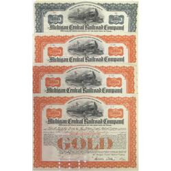 Four Michigan Central Railroad Company Bonds