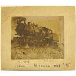 Photograph of Locomotive in Missoula