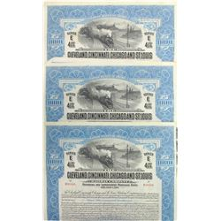 Cleveland, Cincinnati, Chicago & St. Louis Railway Bonds