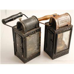 2 More German Railroad Lamps