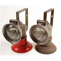 Oxwald Railroad Carbide Lamps (2)