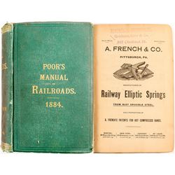 Poor's Manual of Railroads Of the US 1884