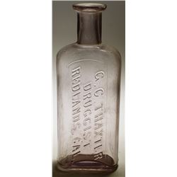 G.C. Thaxter Druggist Bottle, Redlands, CA