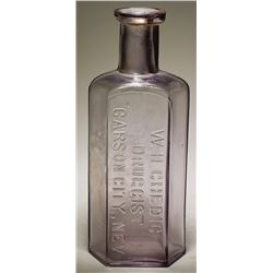 W. H. Chedic Druggist Bottle