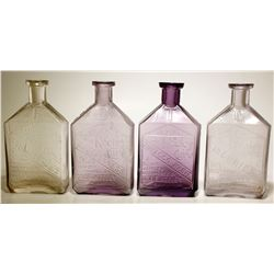 The Keeley Cure Bottles (4)