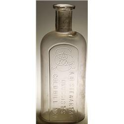 A. B.  Stewart & Co. Druggists Bottle