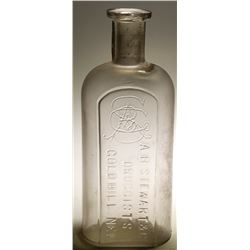 A. B.  Stewart & Co. Druggists Bottle