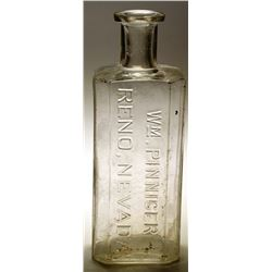Wm Pinniger Druggist Bottle