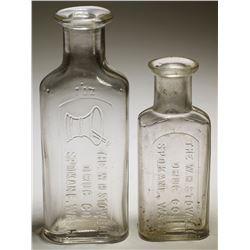 W. H. Stowell Drug Bottles (2)