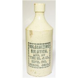 Volcanizing Solution Ceramic Bottle