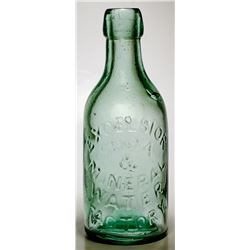 Excelsior Soda & Mineral Water Factory Bottle