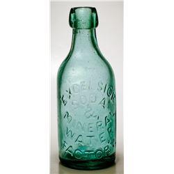 Excelsior Soda & Mineral Water Factory Bottle