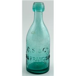 D. S. & Co. Bottle