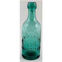 Pacific Soda Works, Classen & Co. Soda Bottle