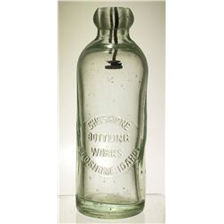 Shoshone Bottling Works Bottle