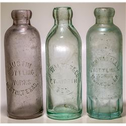 Walker, Fort Worth and Ouachita Valley, Monroe Bottles