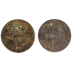 Ira Stout, Brunswick & Co., Token (New Richmond, Indiana)