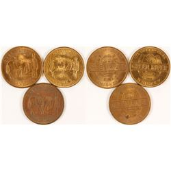 Green River Whiskey Tokens (Owensboro, Kentucky)