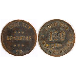 Angel City Mercantile Co. Token (Angel City, Texas)