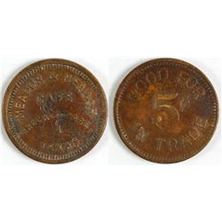 Meador & Meador Cafe Token (Breckenridge, Texas)