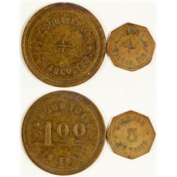 A. Coutret Jr. Tokens (Charco, Texas)