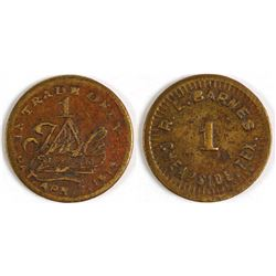 R. L. Barnes Token (Cheapside, Texas)