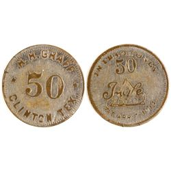 H. H. Graff Token (Clinton, Texas)