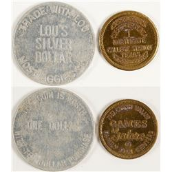 Lou's Silver Dollar Token Plus One Other College Station (College Station, Texas)