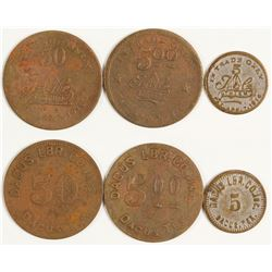 Dacus Lumber Co. Inc. Tokens (Dacus, Texas)