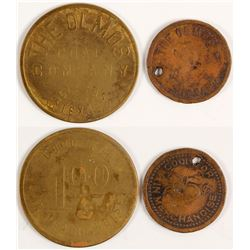 The Olmos Coal Company Tokens (Eagle Pass, Texas)