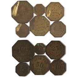 Hill & Isaacson Tokens (El Campo, Texas)