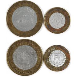 Walker County Lumber Co. Encased Tokens (Elmina, Texas)