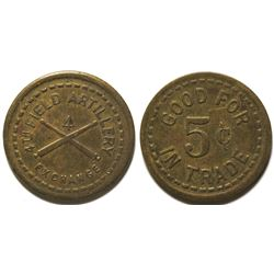 4th Field Artillery Exchange Token (Fort Bliss, Texas)