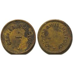 82nd. FA. NCO CLUB Token (Fort Bliss, Texas)