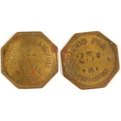 Charles Champion Token (Isabel, Texas)