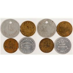 Four Different Kerrville, Texas Tokens