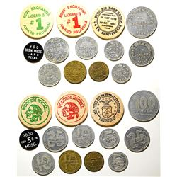 NCO Open Mess Tokens (Lackland AFB, Texas)