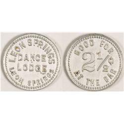 Leon Springs Dance Lodge Token (Leon Springs, Texas)
