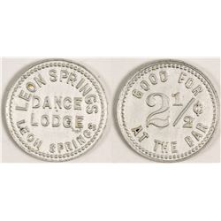 Leon Springs Dance Lodge Token (Leon Springs, Texas)