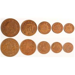 Sherman & Benge Tokens (Maydelle, Texas)