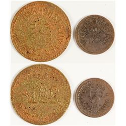 Oakhurst Lumber Co. Tokens (Oakhurst, Texas)
