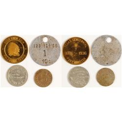 Four Palestine, Texas Tokens