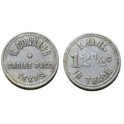 W. Conklin Token (Sabine Pass, Texas)