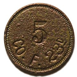 CO. F  23 Token (Texas City, Texas)